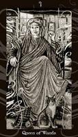 HP Tarot - Queen of Wands