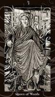 HP Tarot - Queen of Wands