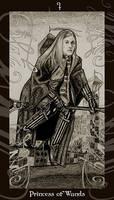 HP Tarot - Princess of Wands