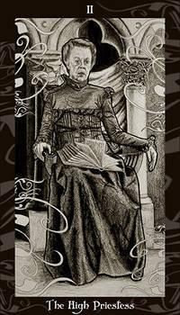 HP Tarot - 2 High Priestess