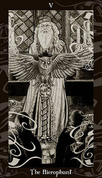 HP Tarot  - 5 The Hierophant