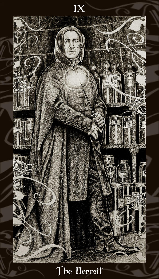 The Hermit Tarot Card Meaning In Readings Isolation: 9 The Hermit By Ellygator On DeviantArt