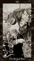HP Tarot - 12 The Hanged Man