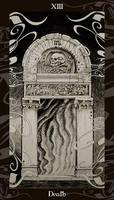 HP Tarot - 13 Death by Ellygator