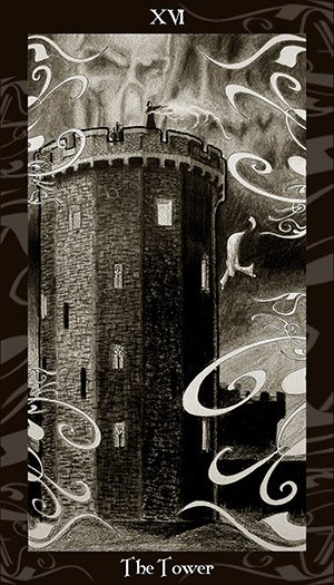 HP Tarot - 16 The Tower