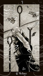 HP Tarot - 6W Victory by Ellygator