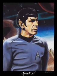 Spock IV by Ellygator