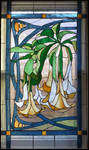 Datura Vines Window