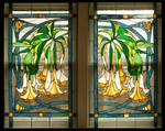 Datura Vines Window Pair by Ellygator