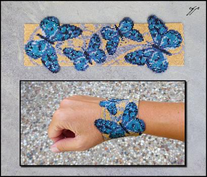 Blue Butterflies by Ellygator