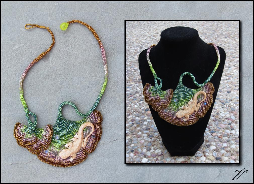 Gingko Gecko by Ellygator