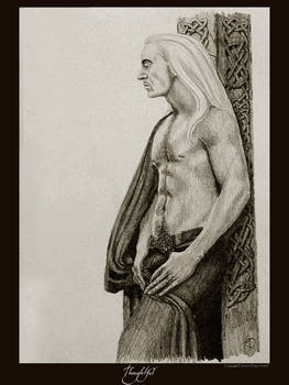 Thoughtful - Lucius Malfoy