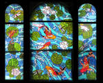 Koi Carp Bay Window by Ellygator