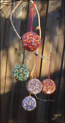 Spiral Ornaments by Ellygator