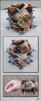 Silver-fanged Copperhead by Ellygator