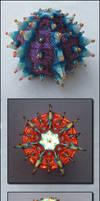 Urchin of Light by Ellygator