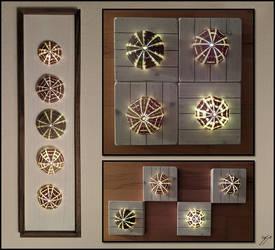 Sea Urchin Light Installation