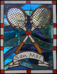 Window Hanging - Tennis at SanMar
