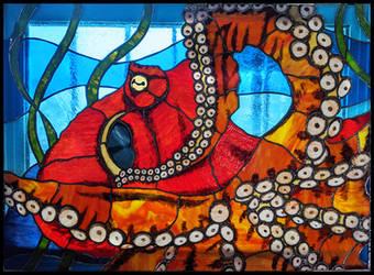 Octopus Window (Panel I)