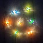 Hollow Rickrack Bead Lights