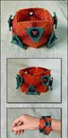 Layered Triangle Bracelet