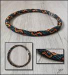 Celtic Tapestry Choker