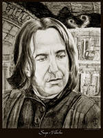 Snape's Valentine by Ellygator