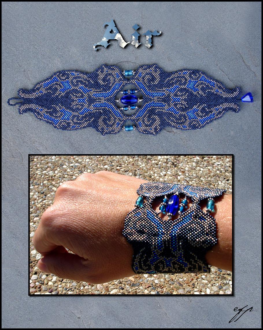 Elemental Bracelet - Air by Ellygator
