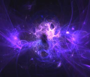Purple space cloud by ZeroGravitation12345