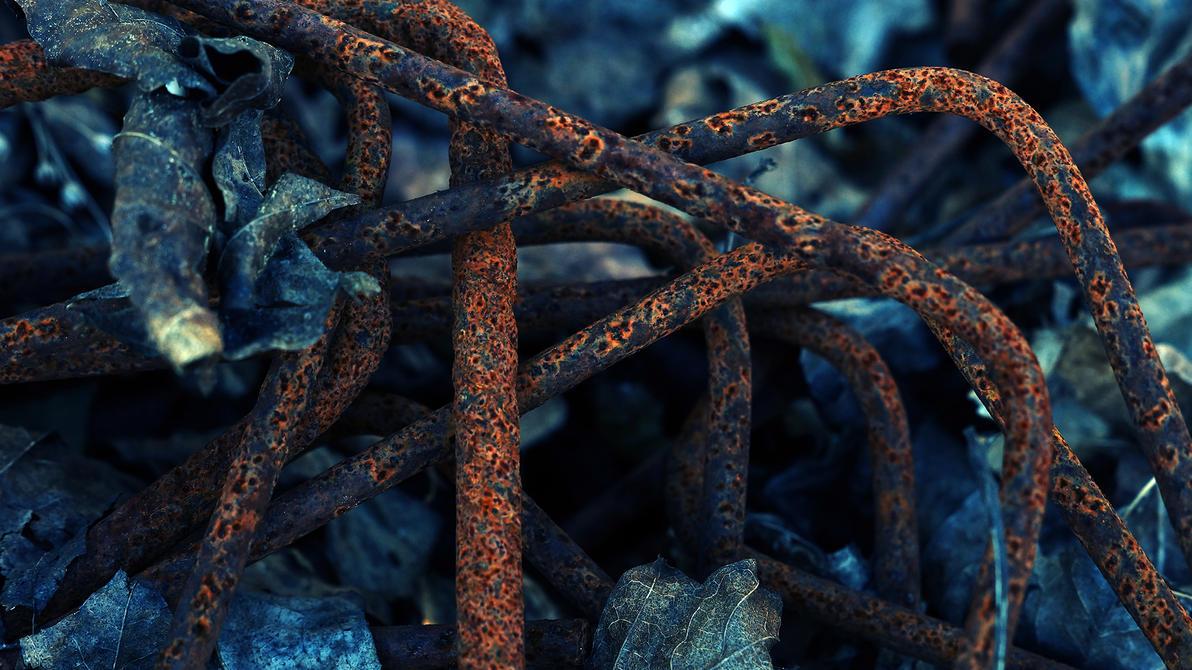 Rusted metal by NovaFlux