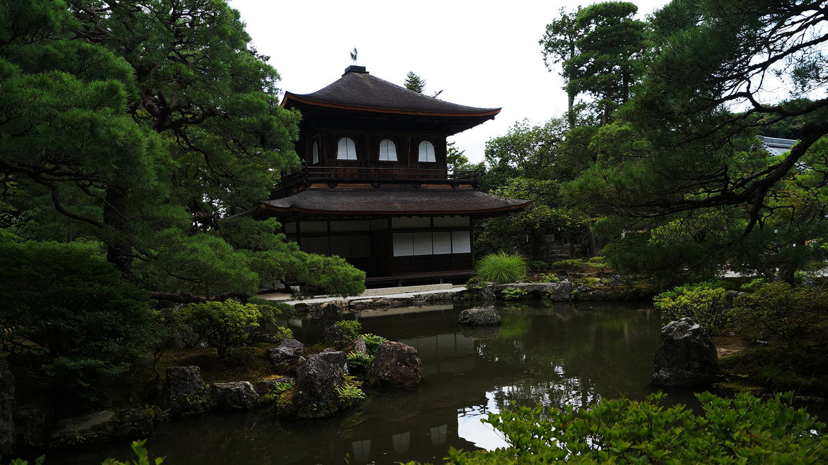 Temple near water by NovaFlux