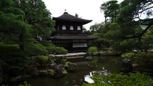 Temple near water