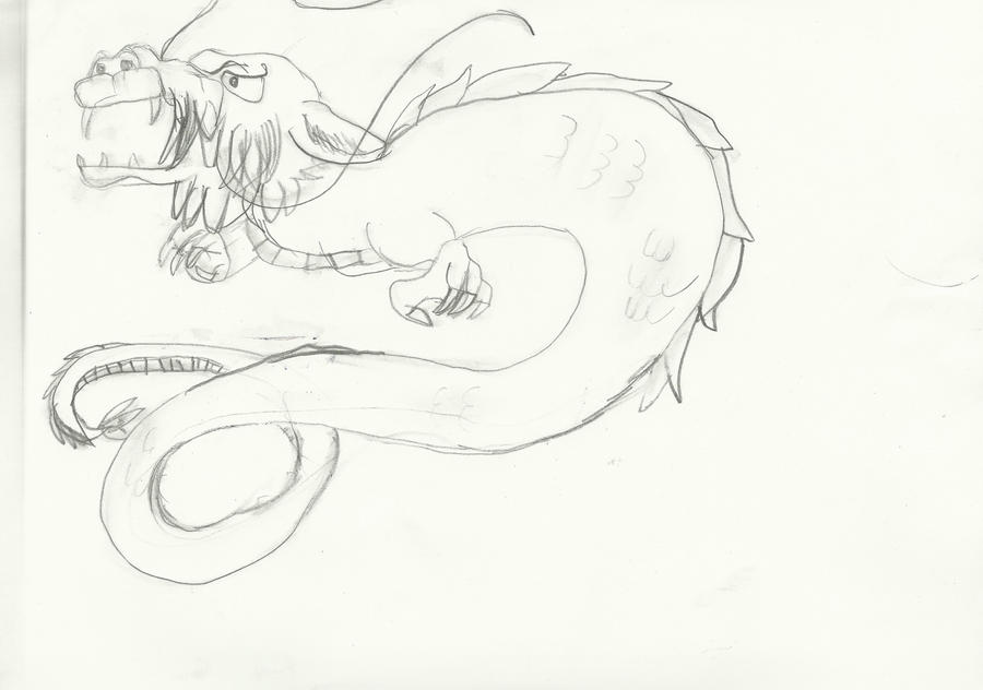 Dragon by mrahahaha