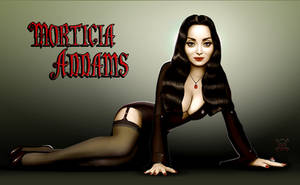 Morticia Addams by JamesParce