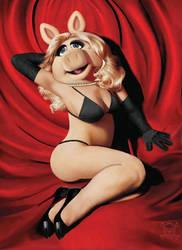 Miss Piggy Monroe - Censored by JamesParce
