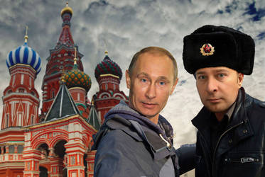 Selfie with Vlad by JamesParce