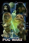 Pug Star Wars by JamesParce