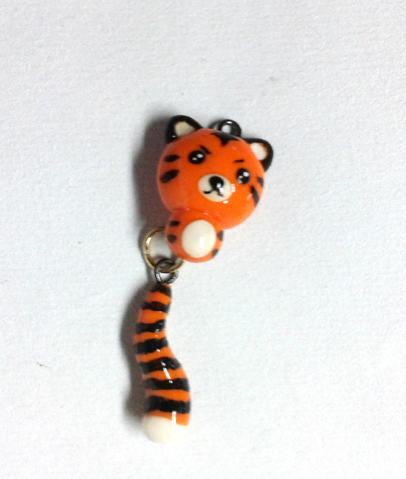 little tiger charm by baboolyn