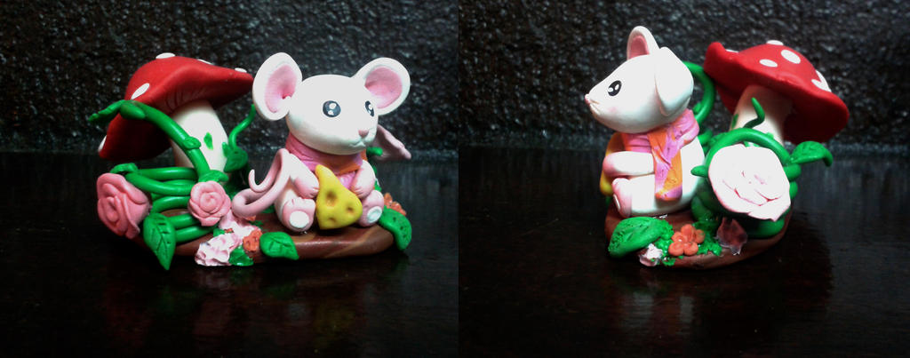 little mouse for pencils by baboolyn