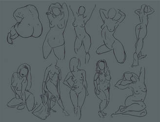 Figure Studies by BlackDelphin
