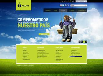 Web design 2 ARGOS Home by camilojones