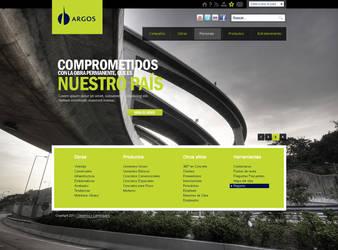 Web design 3 ARGOS Home by camilojones