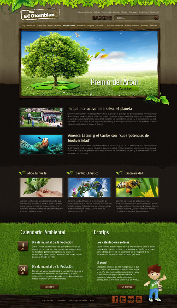 Soy eColombiano Web site by camilojones