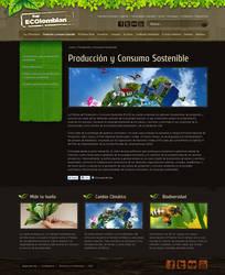 Soy eColombiano Web site int. by camilojones