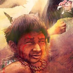Ilustracion y diseno de portada del libro Moxa by letramuda