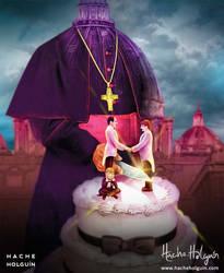 Ilustracion de portada para el libro Tres hombres by letramuda