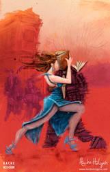 Ilustracion. Tangos y letras by letramuda