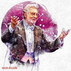 Portrait of Placido Domingo