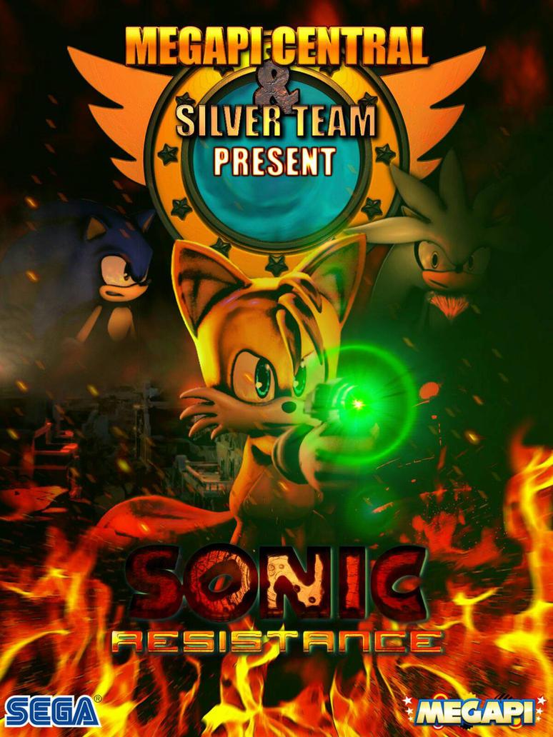 Sonic Resistance - Silver Team SFM by ZentrixStudios
