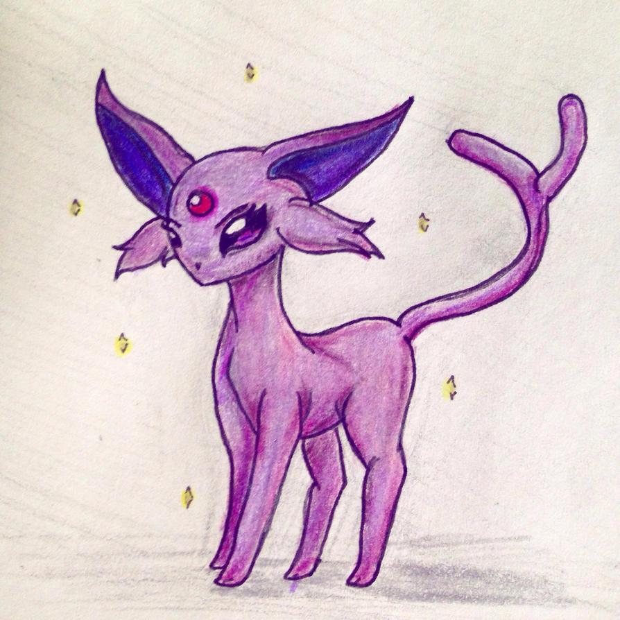 Espeon  by Jackie-Cat-Demon